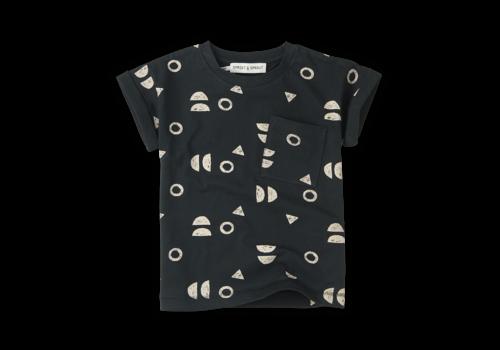 Sproet & Sprout Sproet & Sprout T-shirt Print Abstract Asphalt Asphalt