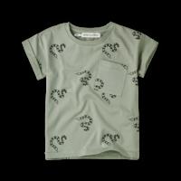 Sproet & Sprout T-shirt Print Snake Eucalyptus
