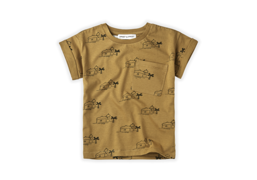 Sproet & Sprout Sproet & Sprout T-shirt Print Oasis Desert
