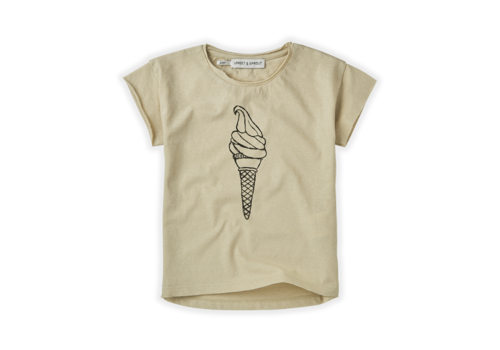 Sproet & Sprout Sproet & Sprout T-shirt Icecream Sesam