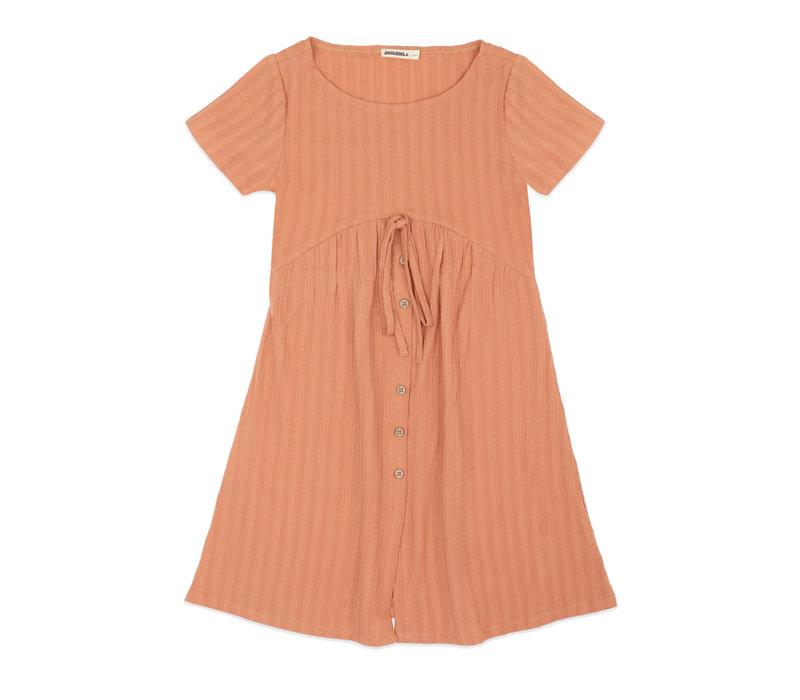 Ammehoela AM.Girlsdress.01 Coral-Dust