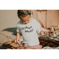 Sproet & Sprout Sweat T-shirt Terry Icecream Bandit Sesam