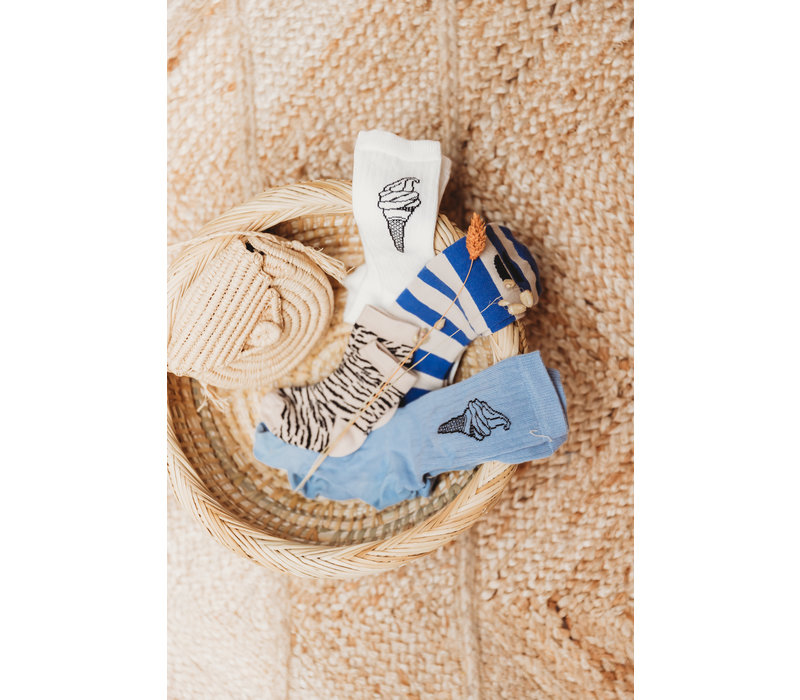 Sproet & Sprout Sport Sock Ice Cream Off-White