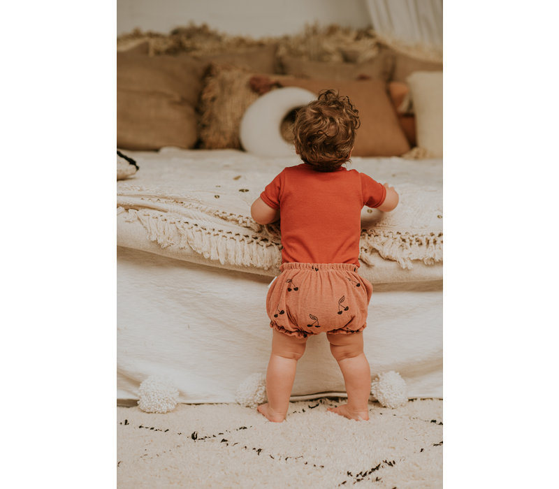 Sproet & Sprout Bloomer Print Cherry Rose