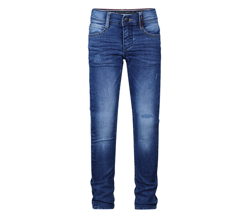 Retour Luigi medium blue denim