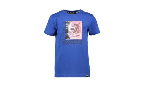 Moodstreet Moodstreet MT fancy t-shirt print Sporty Blue
