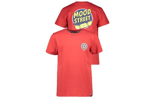 Moodstreet Moodstreet MT t-shirt chest + back print Red