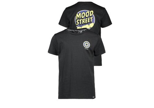 Moodstreet Moodstreet MT t-shirt chest + back print Black