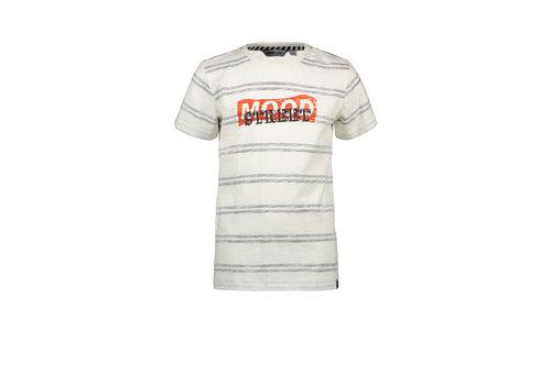 Moodstreet Moodstreet MT striped T-shirt Off White