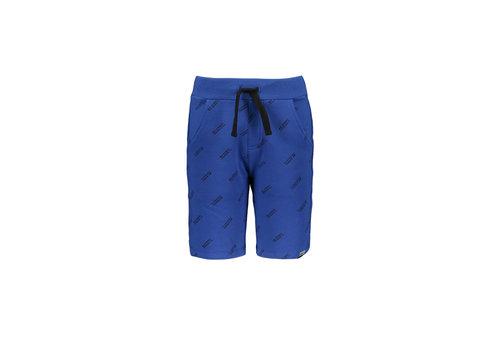 Moodstreet Moodstreet MT jog short AO text print Sporty Blue