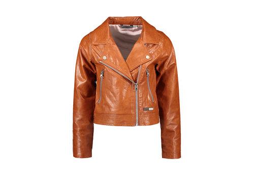 Moodstreet Moodstreet MT PU biker jacket Toffee