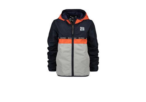 Moodstreet Moodstreet MT colorblock jacket Navy
