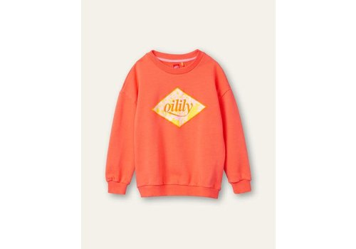 Oilily Oilily Heritage sweater 15 hot coral Orange