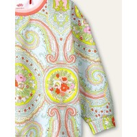 Oilily Heritage sweater 63  Paisley city rose blue
