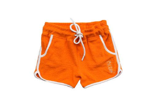 Ammehoela Ammehoela Frotte short Ocean Orange