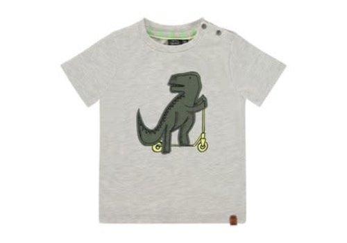 Babyface Babyface boys t-shirt short sleeve/Light Grey Melee/BBE21107615