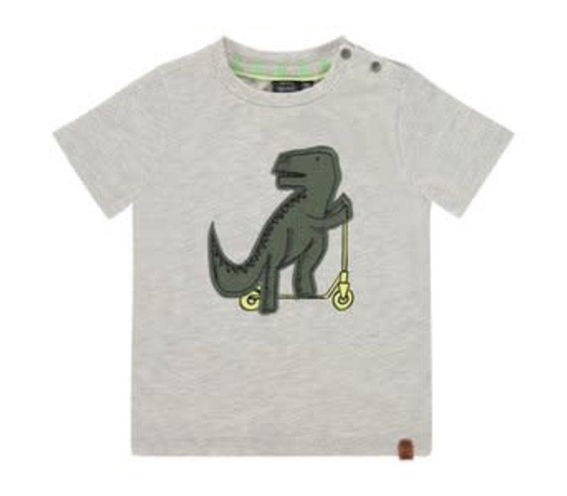 Babyface boys t-shirt short sleeve/Light Grey Melee/BBE21107615