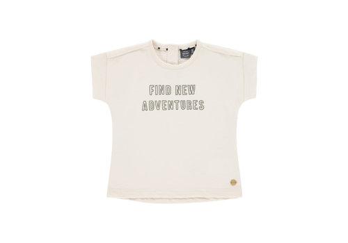 Babyface Babyface boys t-shirt short sleeve ivory BBE21108608