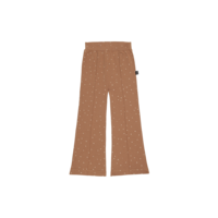 House of Jamie Flared Pants Burnt Ginger Dots