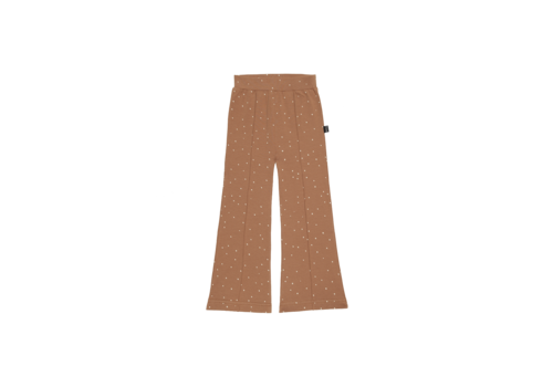 House of Jamie House of Jamie Flared Pants Burnt Ginger Dots