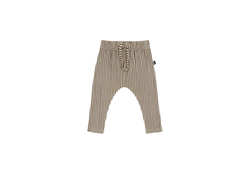 House of Jamie House of Jamie Baby Pants Charcoal Sheer Stripes