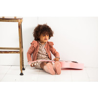 House of Jamie Girls Cardigan Baked Clay