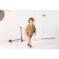 House of Jamie Boys Button Cardigan Apple Cider