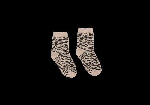 Sproet & Sprout Sproet & Sprout Socks Tiger Sesame