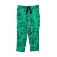Mini Rodini Tigers aop trousers Green