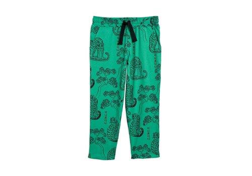 Mini Rodini Mini Rodini Tigers aop trousers Green