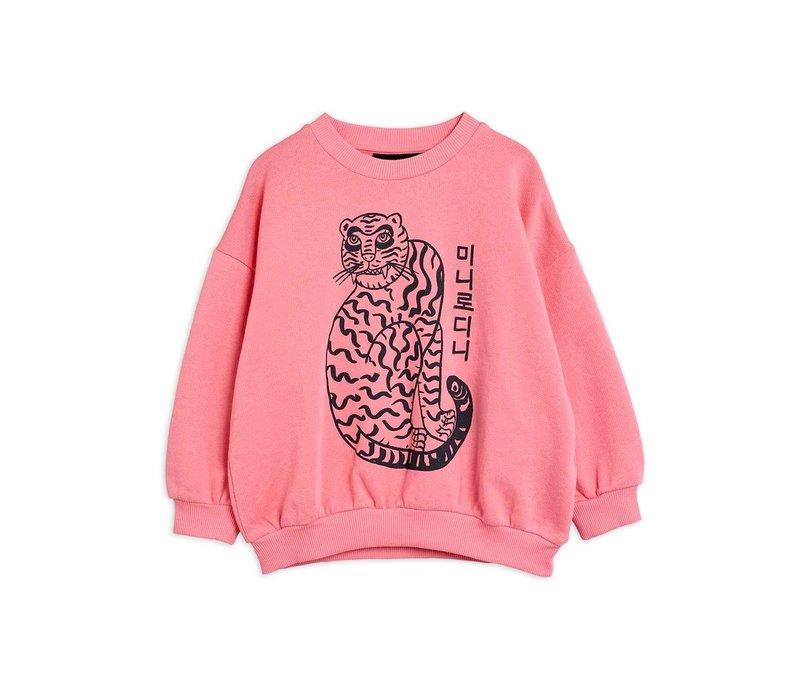 Mini Rodini Tiger sp sweatshirt Pink