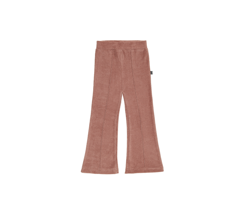 House of Jamie Flared Pants Baked Clay