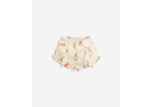 PlayUp PlayUp Printed Flamé Jersey Shorts DANDELION cat