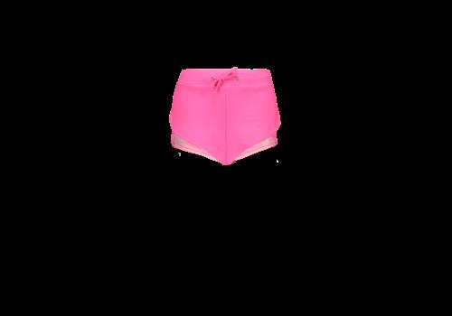 Just Beach Just Beach Girls sporty shorts Hot pink