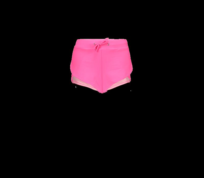 Just Beach Girls sporty shorts Hot pink
