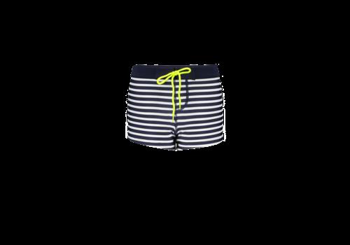 Just Beach Just Beach Boys swimshort Dark blue stripes