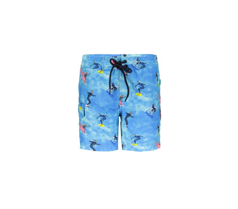 Just Beach Boys long swimshort with ao Surfers ao