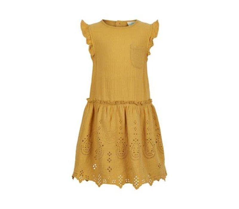 Enfant Dress 07-04 Ochre