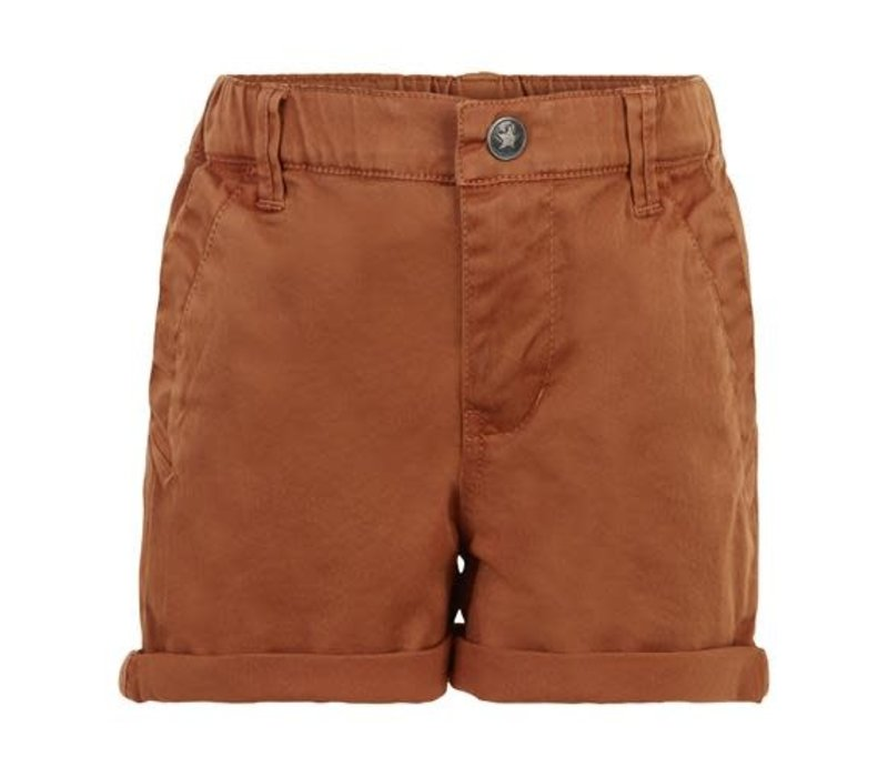 Enfant Shorts Twill 00-62 Roasted Pecan
