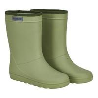 Enfant Rubber Rain Boot Solid Sage