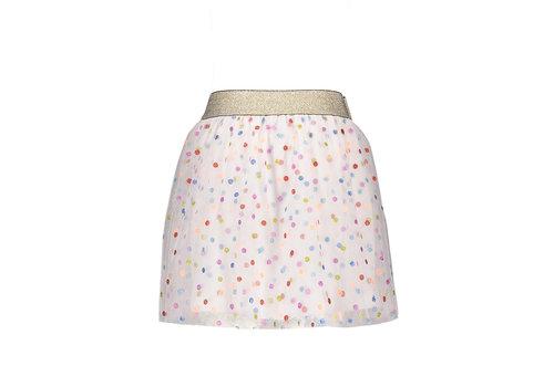Moodstreet Moodstreet MT tulle skirt dot white