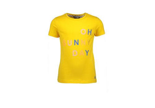 Moodstreet Moodstreet MT t-shirt chestprint Yellow