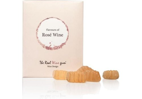 Vinoos Real wine gums Rose