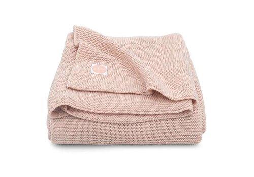 Jollein Jollein Deken 75x100cm Basic knit Pale Pink