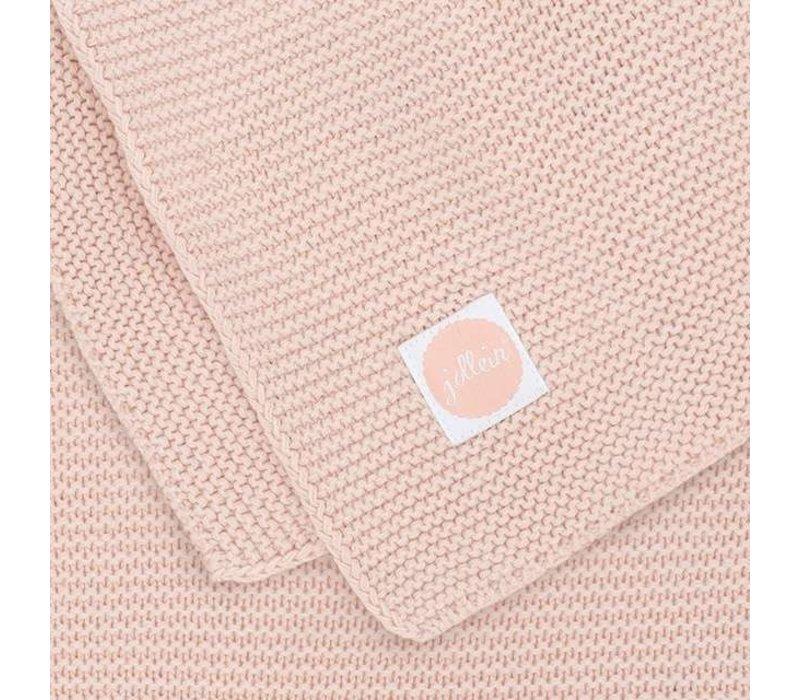 Jollein Deken 75x100cm Basic knit Pale Pink