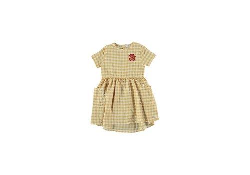 Picnik Picnik Kid DRESS Chloe Summer Girl 50% Cotton 50% CV Linen -Woven 081