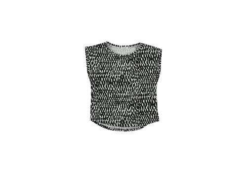 Picnik Picnik Kid T-SHIRT Top Africa Animal Print Girl -100% Cotton-Knitted 103