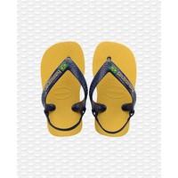 Havaianas Baby Brasil Logo II Amar Ouro