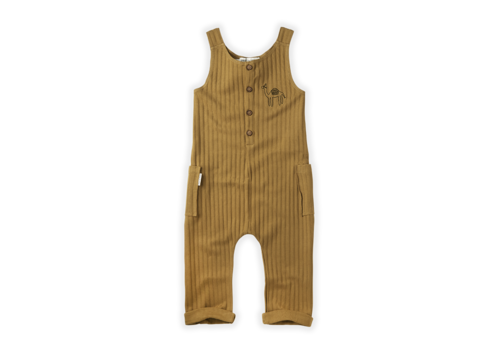 Sproet & Sprout Sproet&Sprout  Jumpsuit Rib Camel