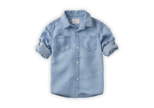 Sproet & Sprout Sproet&Sprout Basic Shirt 'Blue Denim'